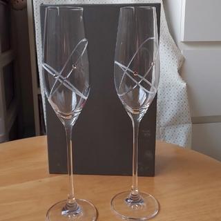 ウェッジウッド(WEDGWOOD)のWEDGWOODシャンパングラス(シャンパン/スパークリングワイン)