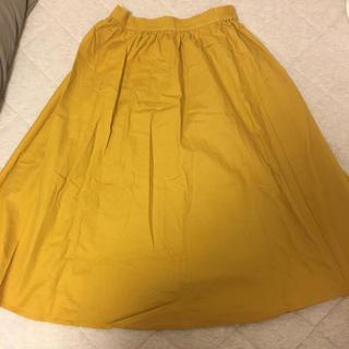 ジーユー(GU)のGU スカート 黄色(その他)