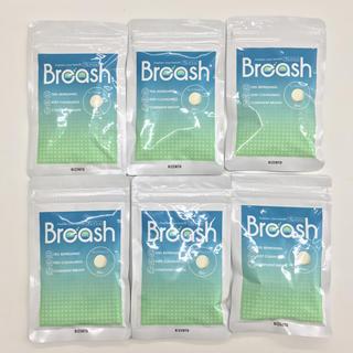 【特売セール】ブレッシュ 口臭ケアサプリ Breash 6袋セット  (口臭防止/エチケット用品)