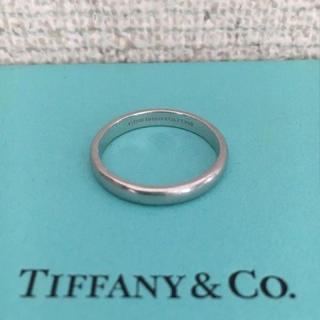 ティファニー(Tiffany & Co.)のティファニー クラシック バンドリング Pt950 5.3g(リング(指輪))