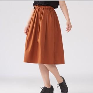 ムジルシリョウヒン(MUJI (無印良品))の無印良品 ギャザースカート Mサイズ(ひざ丈スカート)