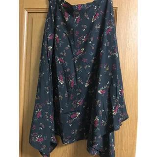 GU - GU 花柄スカート
