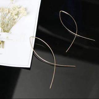 ザラ(ZARA)の2019ss ルーフピアス(ゴールド色)(ピアス)
