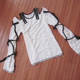 アルゴンキン(ALGONQUINS)のアルゴンキン ガーゼTシャツ(Tシャツ(長袖/七分))