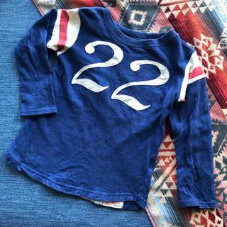 デニムダンガリー(DENIM DUNGAREE)のデニム&ダンガリー  ▲▽▲ ナンバリング Tシャツ 120(Tシャツ/カットソー)