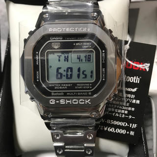 ジーショック(G-SHOCK)のG-SHOCK 未使用品【フルメタルモデル】GMW-B5000D-1JF(腕時計(デジタル))