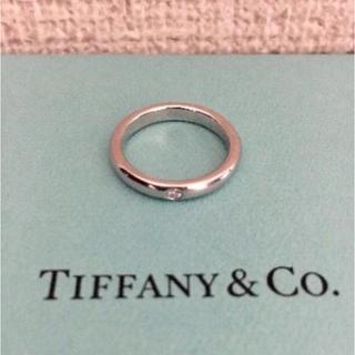 ティファニー(Tiffany & Co.)のティファニー スタッキングバンド リング Pt950 4.6g(リング(指輪))
