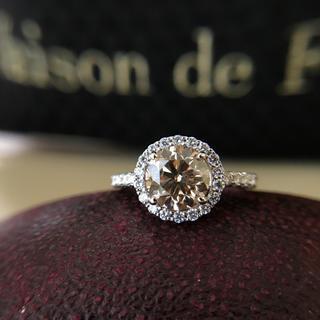 天然ダイヤモンド リング 大人気 未使用 美品(リング(指輪))