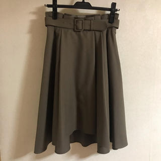 スウィングル(Swingle)のフィッシュテールスカート(ひざ丈スカート)