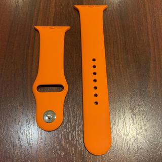 エルメス(Hermes)の(正規品) Apple Watch HERMES エルメス 42mm バンド(ラバーベルト)