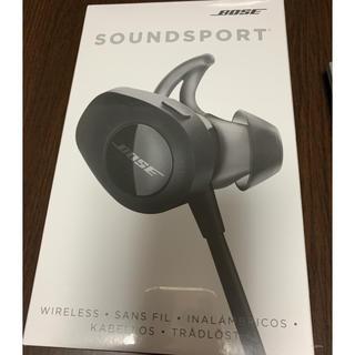 ボーズ(BOSE)のBOSE SoundSport wireless 新品未使用(ヘッドフォン/イヤフォン)