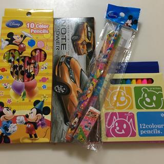 ディズニー(Disney)の色鉛筆、文具セット(色鉛筆 )