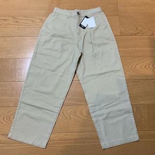 シマムラ(しまむら)の新品未使用タグ付き 綿パンツ(カジュアルパンツ)
