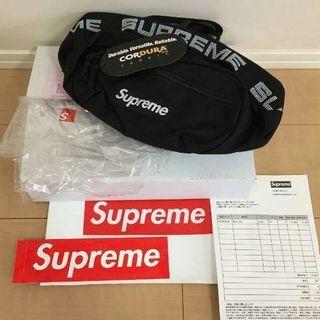 シュプリーム(Supreme)のsupreme waist bag 18ss ウエストバッグ 黒(ボディバッグ/ウエストポーチ)