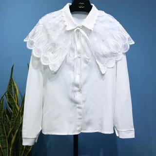 長袖レースシャツ62(Tシャツ/カットソー(七分/長袖))