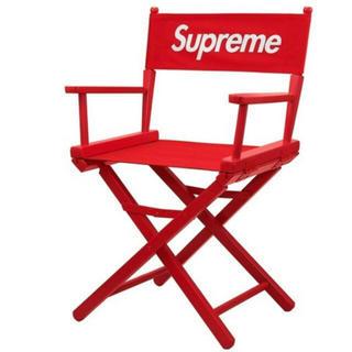 シュプリーム(Supreme)の新品 supreme directors chair RED(折り畳みイス)