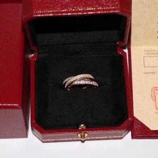 カルティエ(Cartier)の カルティエ トリニティ スリーカラー 3連リング(リング(指輪))