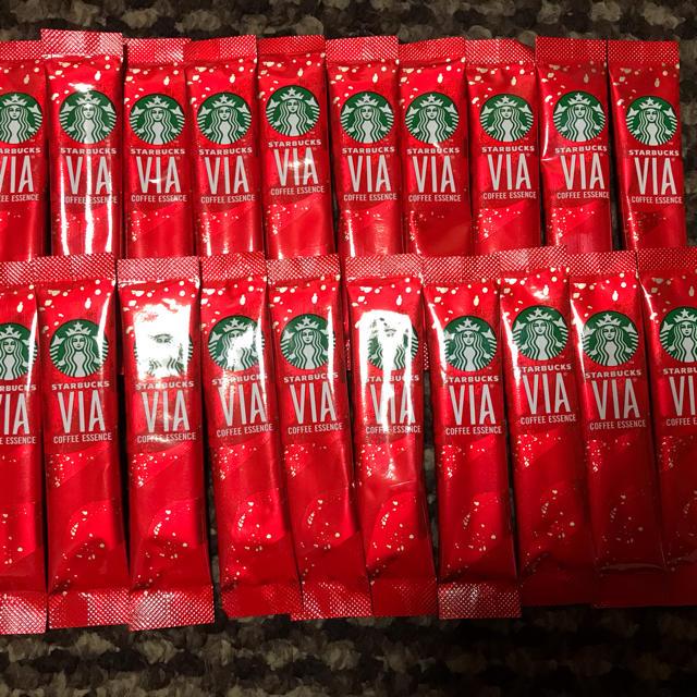 Starbucks Coffee(スターバックスコーヒー)のスタバ VIA コーヒー 20本 食品/飲料/酒の飲料(コーヒー)の商品写真