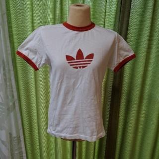 アディダス(adidas)のadidasテーシャツ(Tシャツ(半袖/袖なし))