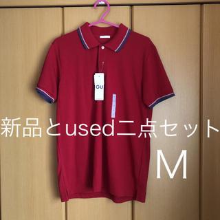 ジーユー(GU)のGU  ポロシャツ  タグ付き新品とused  二点(ポロシャツ)