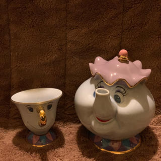 Disney - ポット夫人とチップ