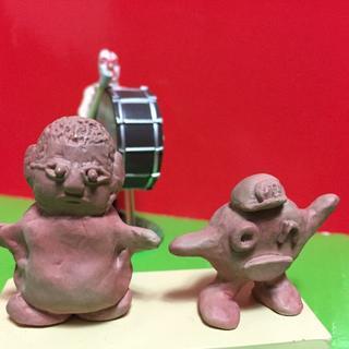 「水曜どうでしょう」フィギュア「焼物藤村」&「焼物on」 &裸の王様がやってきた