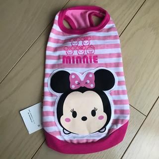 ディズニー(Disney)の新品■ディズニーツムツム ミニーちゃんタンクトップ ピンクMサイズ(犬)