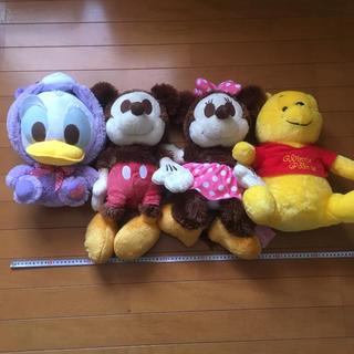 ディズニー(Disney)のぬいぐるみ4個セット(ぬいぐるみ)