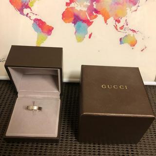 グッチ(Gucci)のGUCCI グッチ アイコンリング 指輪 クローバー 実寸16号(リング(指輪))