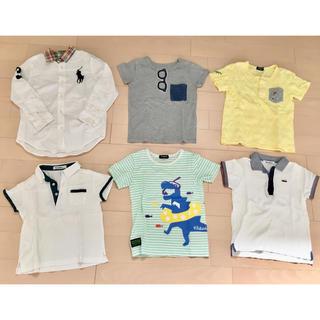 ファミリア(familiar)の子供服120男の子 ファミリア クレードスコープ  ラルフローレン まとめ売り(Tシャツ/カットソー)