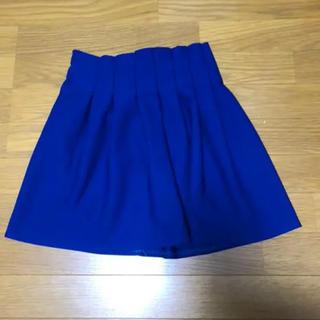 スピーガ(SPIGA)の青 スカート(ミニスカート)