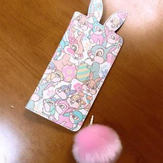 ディズニー(Disney)のディズニー イースター サンパー ミスバニー iPhoneケース スマホケース(モバイルケース/カバー)