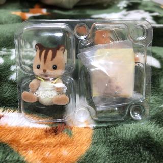 エポック(EPOCH)のシルバニアファミリー 赤ちゃん探検シリーズ 2番 くるみリス(ぬいぐるみ/人形)