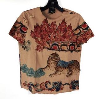 ジャストカヴァリ(Just Cavalli)の新品同様ジャストカヴァリ 半袖Tシャツ サイズS レディース(Tシャツ(半袖/袖なし))