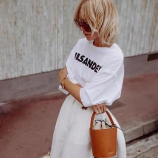 ジルサンダー(Jil Sander)の新品正規品 JIL SANDER 19SS ジルサンダー ロゴ Tシャツ(Tシャツ(半袖/袖なし))