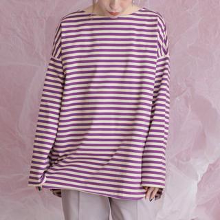 ケービーエフ(KBF)の今期 KBF BIGボーダーTシャツ(Tシャツ(長袖/七分))