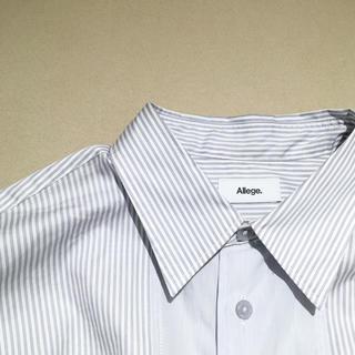 アレッジ(ALLEGE)のALLEGE アレッジ STUDIOUS別注 ストライプシャツ(シャツ)