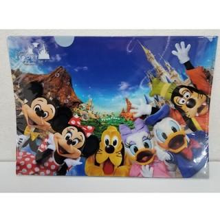 ディズニー(Disney)のディズニーリゾート クリアファイル 実写 非売品 ミッキー(クリアファイル)