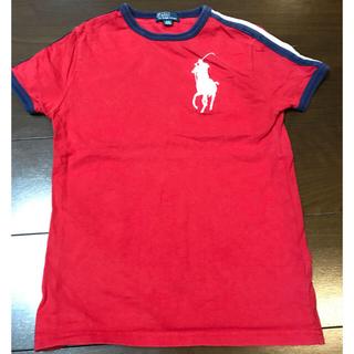 ラルフローレン(Ralph Lauren)のラルフローレン  Tシャツ 120〜 赤 キッズ ビッグポニー(Tシャツ/カットソー)