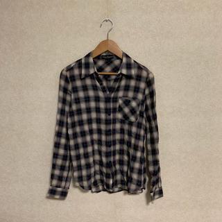 アーバンリサーチ(URBAN RESEARCH)のURBAN RESEARCH ブラウンチェックシャツ(シャツ/ブラウス(長袖/七分))
