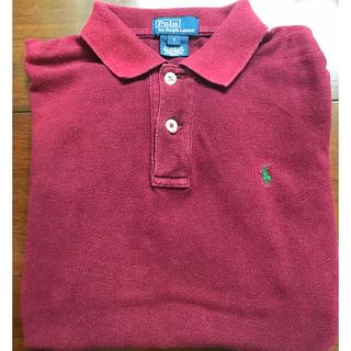 ラルフローレン(Ralph Lauren)のラルフローレン  ポロシャツ 110〜120 キッズ ワインレッド色(Tシャツ/カットソー)