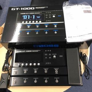 ボス(BOSS)の格安!!BOSS GT -1000 元箱・取説など付属品一式有り。ボス(エフェクター)