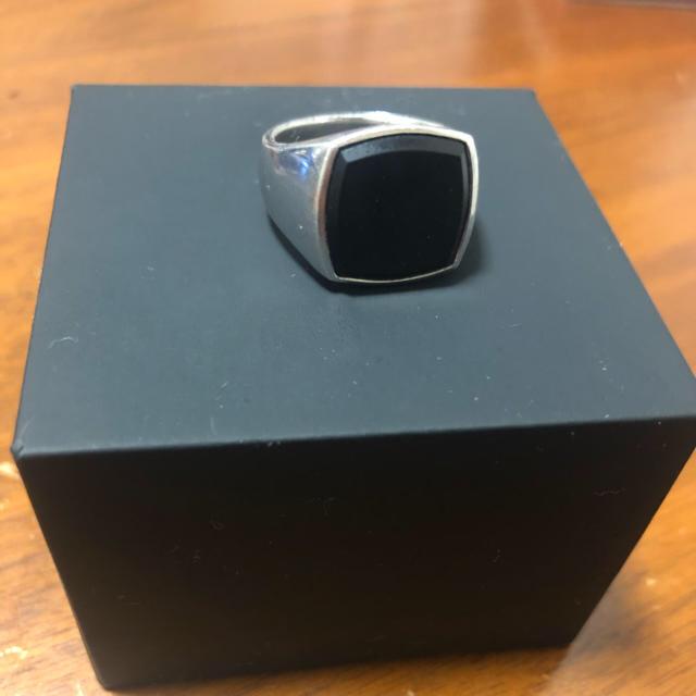 Maison Martin Margiela(マルタンマルジェラ)のトムウッド TOMWOOD リング オニキス SV925 18号 メンズのアクセサリー(リング(指輪))の商品写真