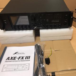 【正規品】Axe Fx Ⅲ Axe Fx 3 (美品)(エフェクター)