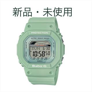 ベビージー(Baby-G)のBABY-G  グリーン CASIO  3296P*JA  腕時計(腕時計)