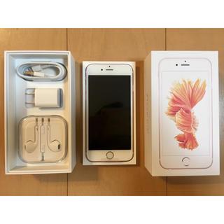 アイフォーン(iPhone)のiPhone6s 32GB ピンクゴールド(スマートフォン本体)