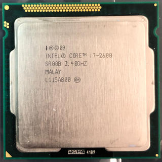 Intel Core i7 2600 SR00B 3.40GHz(PCパーツ)