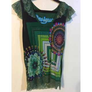 デシグアル(DESIGUAL)のDesigual レーストップス(Tシャツ(半袖/袖なし))