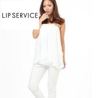 リップサービス(LIP SERVICE)のリップサービス♡シフォンチュニック1300円(チュニック)