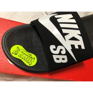 ナイキ(NIKE)の新品★NIKE SBスポーツサンダル★ベナッシソーラーソフトSB★ 黒 28cm(サンダル)